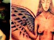 Asia Argento: dato nuova vita tatuaggio