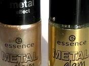 Essence Metal Glam Nail Polishes Swatches+Review