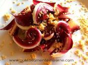 Ortoromi: l'eccellenza della gamma. insalata radicchio rosso treviso granella prosciutto cotto.