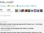 Rosetta svegliata!