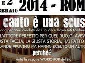 Canto scusa: seminario attori Magma Space Roma