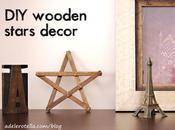 DIY: Stelle decorative legno Wooden stars decor