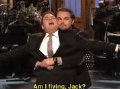Jonah Hill Leonardo DiCaprio divertono imitare Titanic