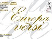 Europa versi edizione marzo 2014 Villa Grumello, Como