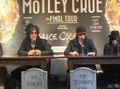"Mötley Crüe Conferenza stampa date ""Final Tour"""