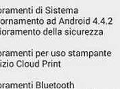 Aggiornamento Android 4.4.2 KitKat Download