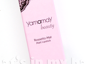 "close make n°212: Yamamay beauty, Rossetto n°06 ""Ultimate red"""