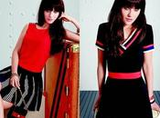 [OUTFIT LOOKS] Zooey Deschanel Tommy Hilfiger