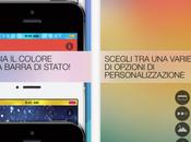 Crea nuovo eccezionale look barra stato iPhone l'App Barra Stato Colorata