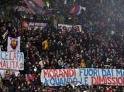 Morandi difeso napoletani, contestazione Dall'Ara