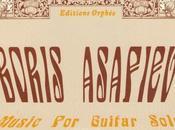 Boris Asaf'ev preludi chitarra