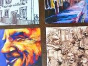 Quattro cartoline ricordo direttamente dall'Eagle Child Oxford