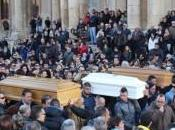 Siracusa: tutta città Noto funerali Marisol, Maria Sandra, vittime maltempo