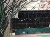 Siracusa: degrado pallone tensostatico, simboli della gloria sportiva siracusana abbandonato destino
