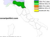 Sondaggio SCENARIPOLITICI gennaio 2014): EMILIA ROMAGNA, 42,0% (+14,5%), 27,5%, 23,3%