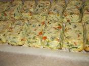 Mini plumcake salati ricotta verdure