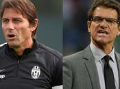 Fabio Capello contro Antonio Conte