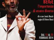 "Jonis Bascir alla Garbatella Roma monologo teatrale ""Beige"""