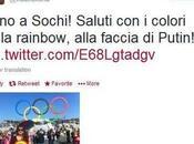 "Vladimir Luxuria arrestata Sochi: sventolava bandiera ""gay"