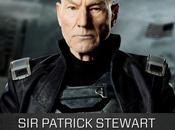 Patrick Stewart Professor futuro nell'artwork promozionale X-Men: Giorni Futuro Passato