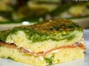 Torta verde formaggio spinaci