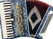 Accordion Castelfidardo, well known Italian product above during immigration