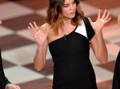 Kasia Smutniak futura mamma radiosa Sanremo