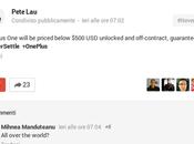 OnePlus costerà meno dollari