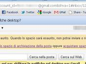 Notifiche desktop Gmail Google Chrome
