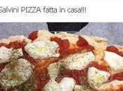 leghista Matteo Salvini posta pizza fatta casa viene deriso