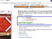 Super offerta: Motorola Moto White vendita spedizione Amazon Prime soli euro