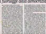Grillo fuorilegge della democrazia, Giuliano Ferrara, Foglio febbraio 2014