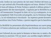 colpa tram ferma Ostiense invece andare fino Trastevere? lettera comparsa qualche giorno Corriere della Sera