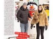 Francesco Totti Ilary Blasi, relax sulla neve figli
