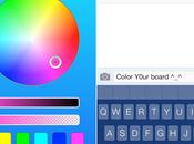 ColorY0urBoard, cambia colore alla tastiera iPhone Cydia