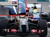 Test Bahrein: Lotus modifiche alle fiancate