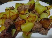 Spadellata patate salsiccia