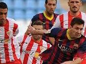 Liga; Poker Barcellona contro all'Almeria.