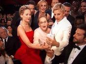 migliore foto degli Oscar 2014: selfie delle star