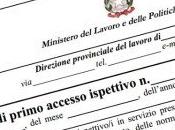 dichiarazione sostitutiva lavoratore prevale verbale ispettivo