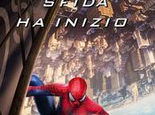 Spider-Man incollato grattacielo nuovo poster italiano Amazing Potere Electro