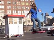 HUVr, skate antigravitazionale: finzione realtà?