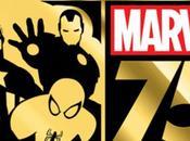 Lanciati logo video presentazione 75esimo Anniversario casa Marvel