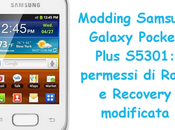 Modding Samsung Galaxy Pocket Plus S5301: permessi Root Recovery modificata