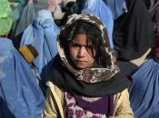 """Afghanistan """"Festa delle donne"""", viso senza burqa"""