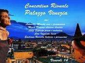 Concertino Rionale: incontro insegna mare Palazzo Venezia