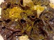 Tagliatelle cacao nasello pistacchio
