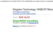 Kingston MicroDuo disponibile Amazon