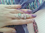 Spring 2014: radiant orchid nailart inspired