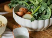 Crema broccoli palline pane croccanti